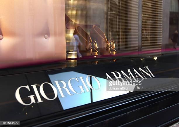 Giorgio Armani window