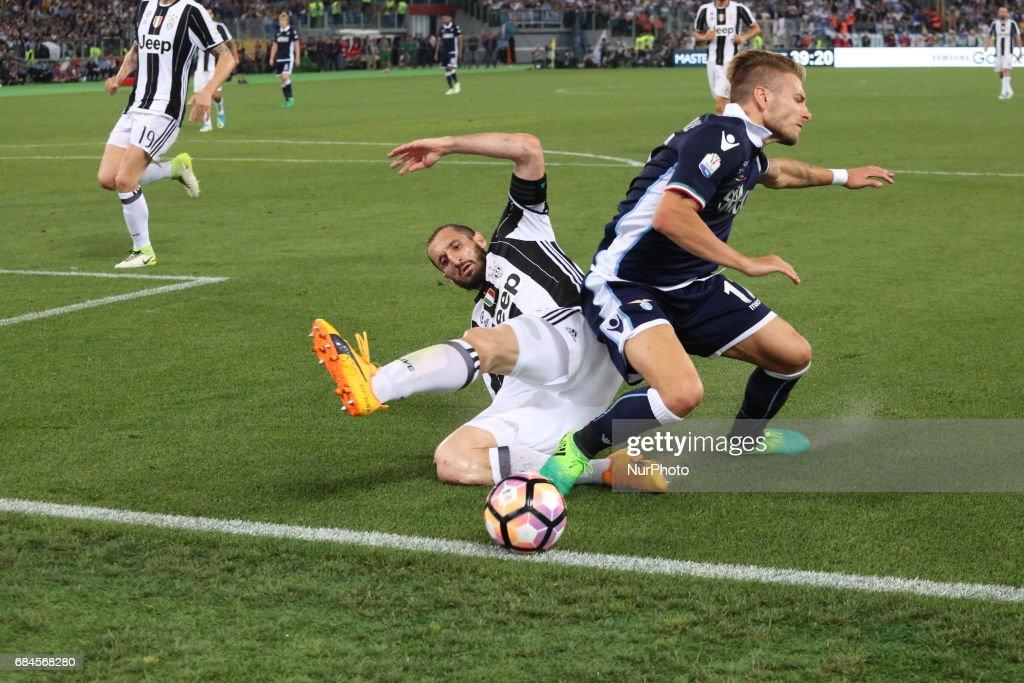 Juventus FC v SS Lazio - TIM Cup Final : News Photo