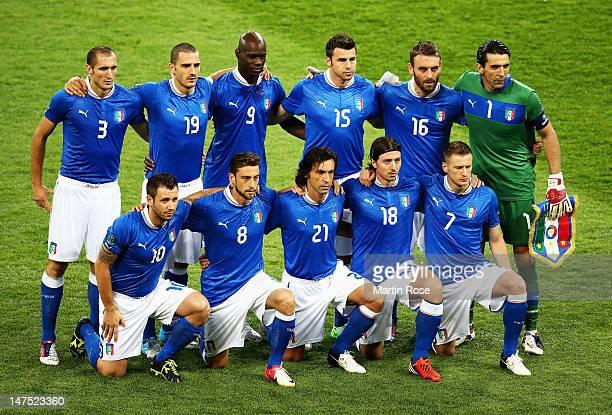 Giorgio Chiellini, Leonardo Bonucci, Mario Balotelli, Andrea Barzagli, Daniele De Rossi and Gianluigi Buffon, Antonio Cassano, Claudio Marchisio,...