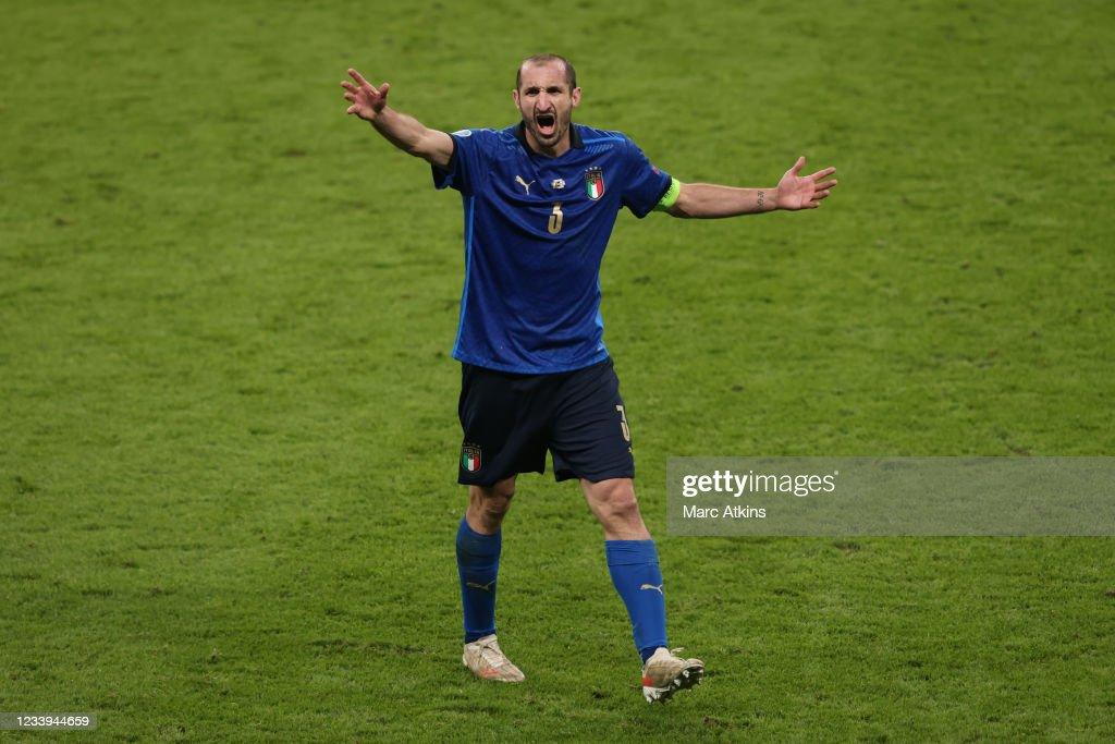 Italy v England - UEFA Euro 2020: Final : Foto di attualità