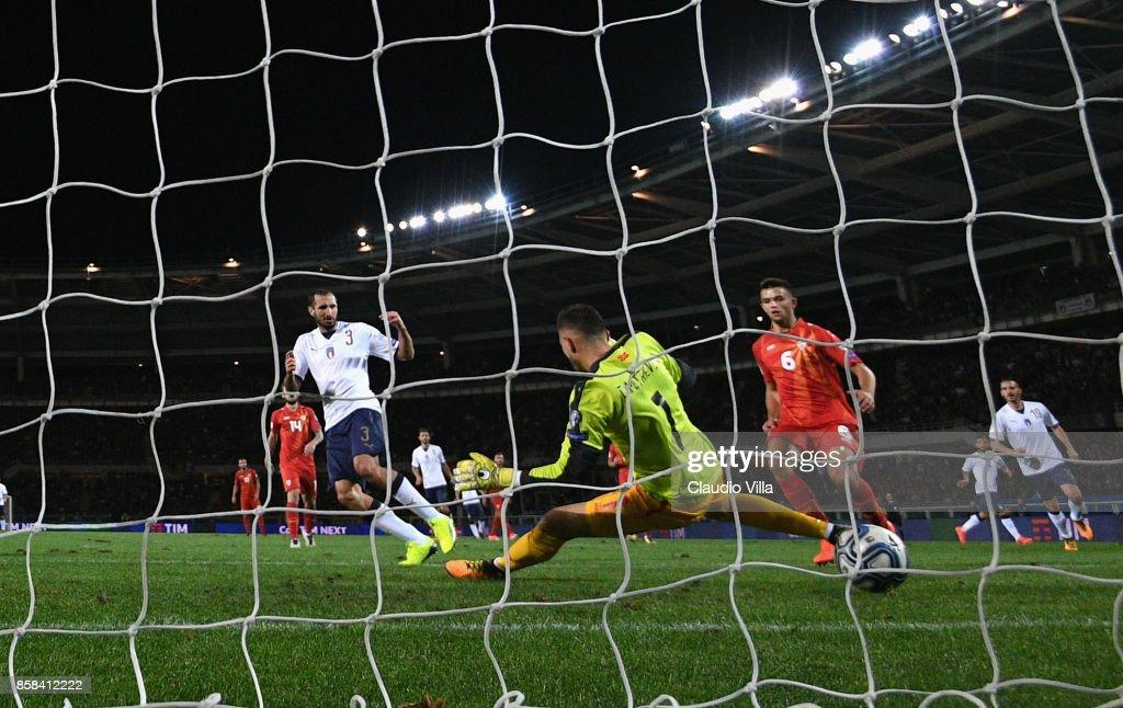 Italy v FYR Macedonia - FIFA 2018 World Cup Qualifier