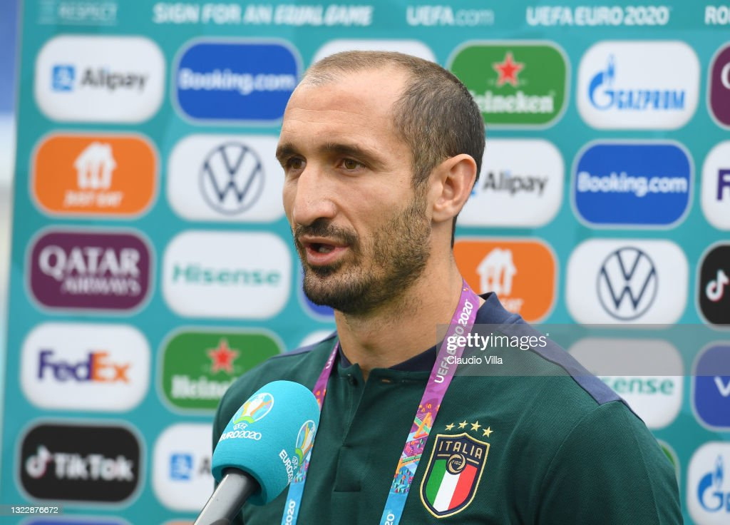 Italy Training Session and Press Conference - UEFA Euro 2020: Group A : ニュース写真