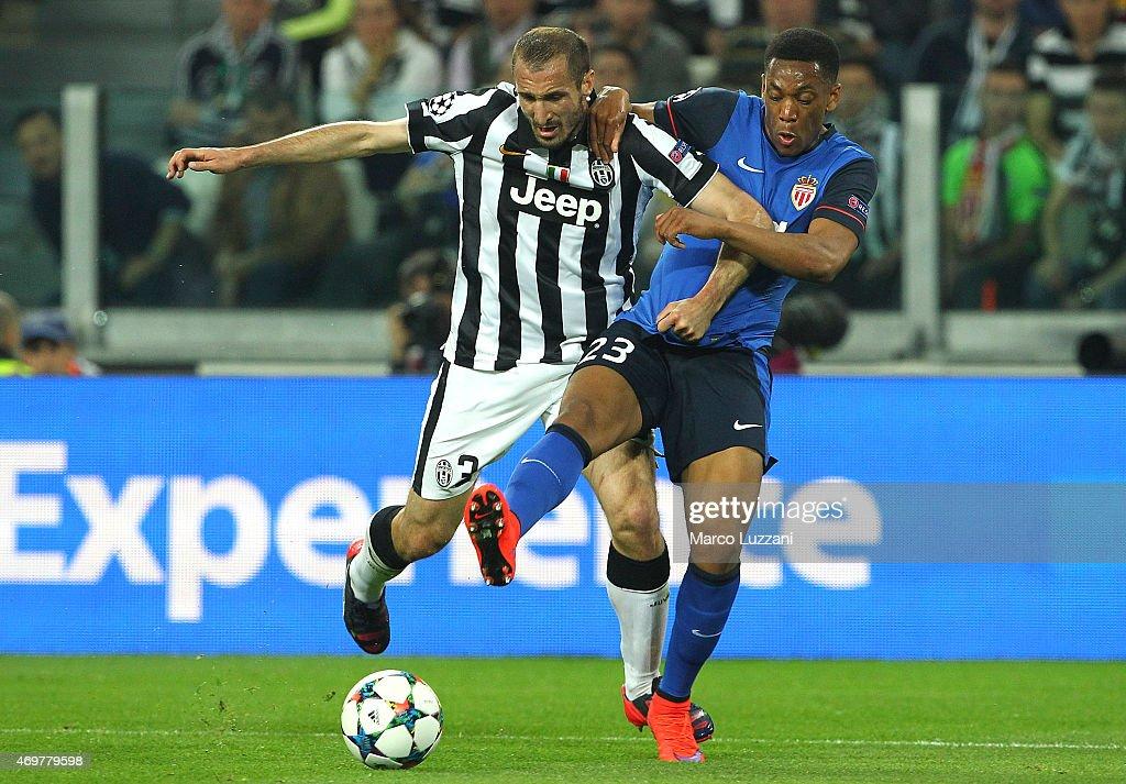 Juventus v AS Monaco FC - UEFA Champions League Quarter Final: First Leg : News Photo
