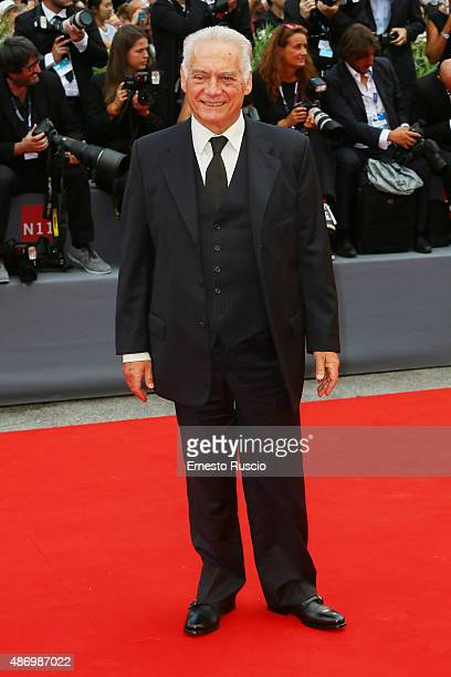 Giorgio Colangeli attends a premiere for 'The Wait' during the 72nd Venice Film Festival on September 5 2015 in Venice Italy