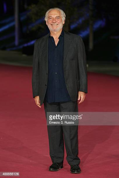 Giorgio Colangeli attends the 'Ragion Di Stato' pink carpet at Auditorium Parco Della Musica as a part of Roma Fiction Fest 2014 on September 16 2014...