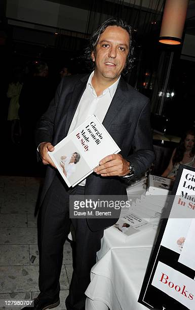 Giorgio Locatelli attends a book launch party for his new book Made In Sicily at Locanda Locatelli on October 4 2011 in London England