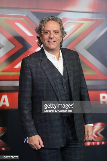 Giorgio Locatelli attends X Factor tv show at Mediolanum Forum on December 13 2018 in Milan Italy