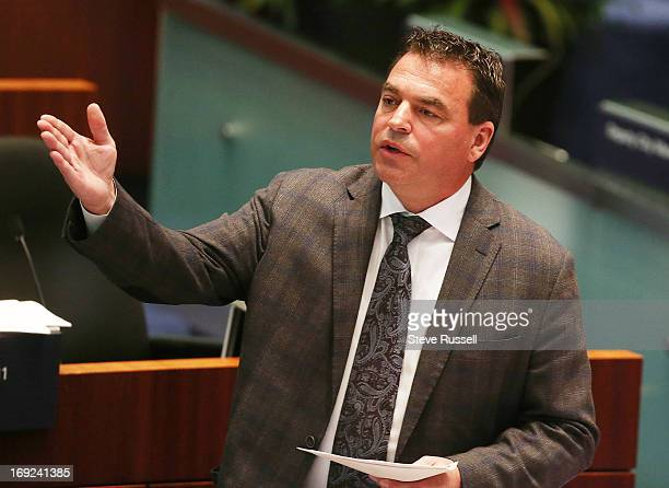 Giorgio Mammoliti debates on the Casino issue Toronto Mayor Rob Ford's motion and others he supported are voted down during the casino debate at...