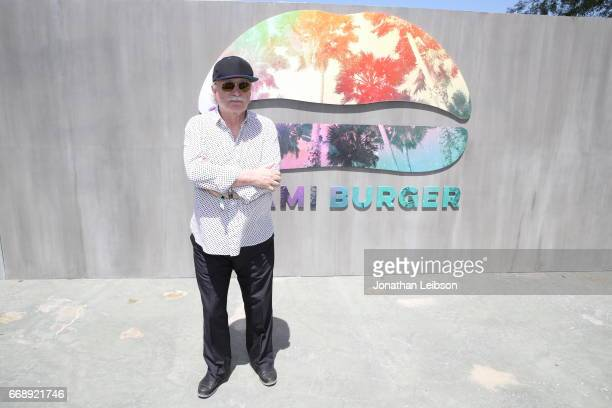 Giorgio Moroder attends The Hyde Away hosted by Republic Records SBE presented by Hudson and bareMinerals during Coachella on April 15 2017 in...