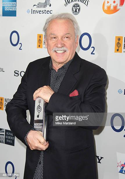 Giorgio Moroder attends the Nordoff Robbins 02 Silver Clef awards at London Hilton on July 4 2014 in London England