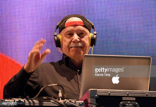 Giorgio Moroder performs at the BBC Radio 2 Live In Hyde Park Concert at Hyde Park on September 13 2015 in London England