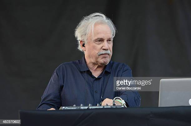 Giorgio Moroder performs during De Nolet presented by Ketel One Vodka an official sponsor of the Pitchfork Music Festival at Union Park on July 18...