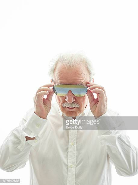 Giorgio Moroder the Godfather of EDM is photographed for Rolling Stone Magazine on May 14 2015 at home in Los Angeles California