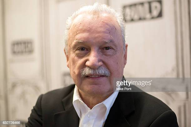 Giorgio Moroder visits Build Series to discuss The Direct Connection Series at Build Studio on January 25 2017 in New York City