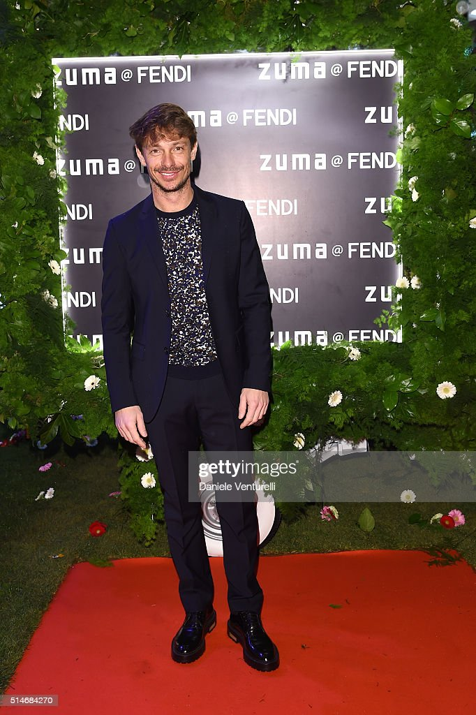 Giorgio Pasotti attends Palazzo FENDI And ZUMA Inauguration on March 10, 2016 in Rome, Italy.