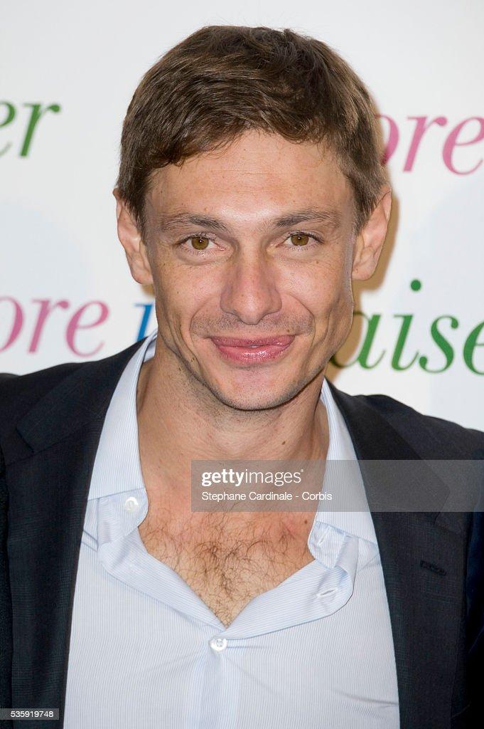 Giorgio Pasotti attends the premiere of 'Encore Un Baiser' in Paris.