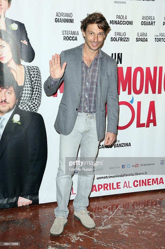 'Un Matrimonio Da Favola' - Premiere