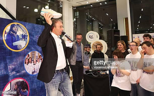 Giorgio Presca attends the  Geox For Valemour  Boutique Cocktail on March  19 2015 in b8c4e5e80cab