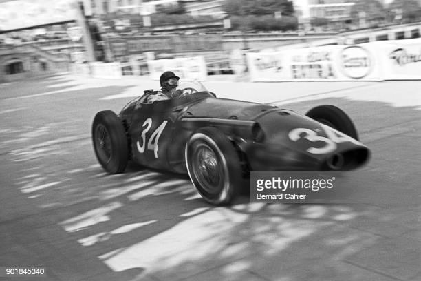 Giorgio Scarlatti Maserati 250F Grand Prix of Monaco Circuit de Monaco 19 May 1957