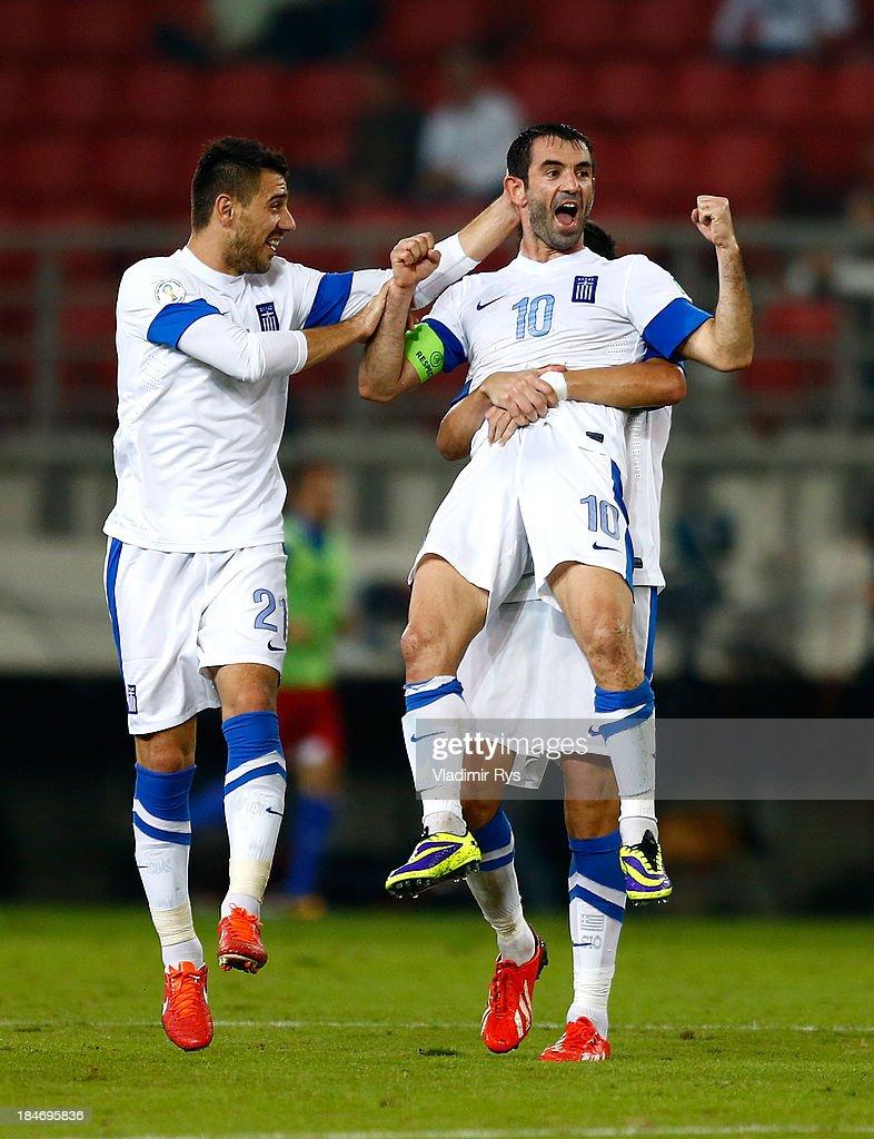 Greece v Liechtenstein - FIFA 2014 World Cup Qualifier : News Photo