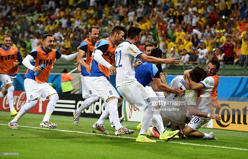 Greece v Cote D'Ivoire: Group C - 2014 FIFA World Cup Brazil