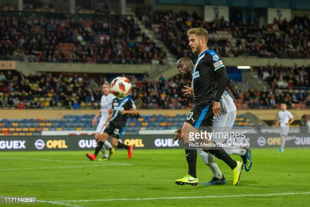Giotto Morandi of Grasshopper Club Zurich in action during the Challenge League game between FC Lausanne-Sport and Grasshopper Club Zurich at Stade...