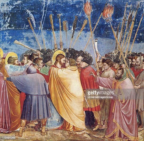 Giotto, The Kiss of Judas