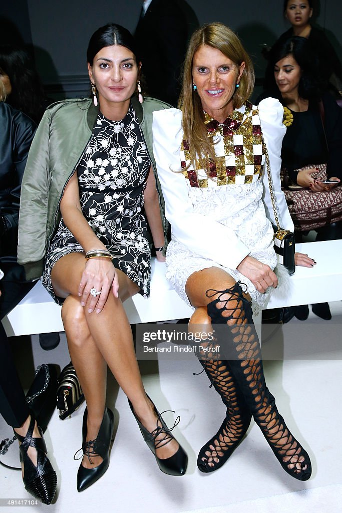 Giambattista Valli : Front Row - Paris Fashion Week Womenswear Spring/Summer 2016