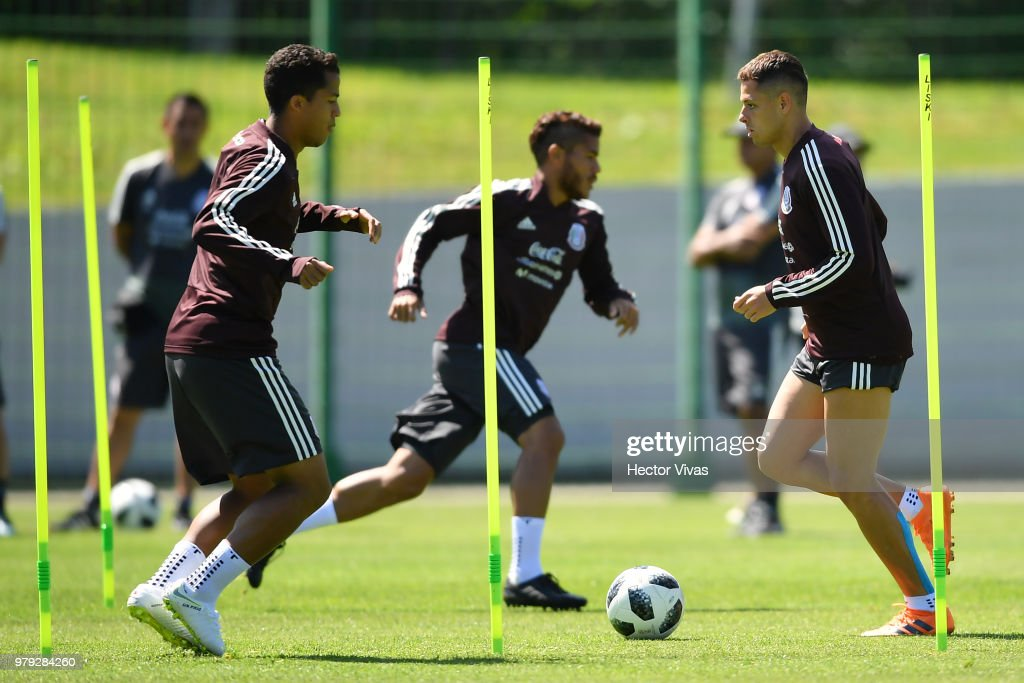 Mexico Training Session - FIFA World Cup Russia 2018
