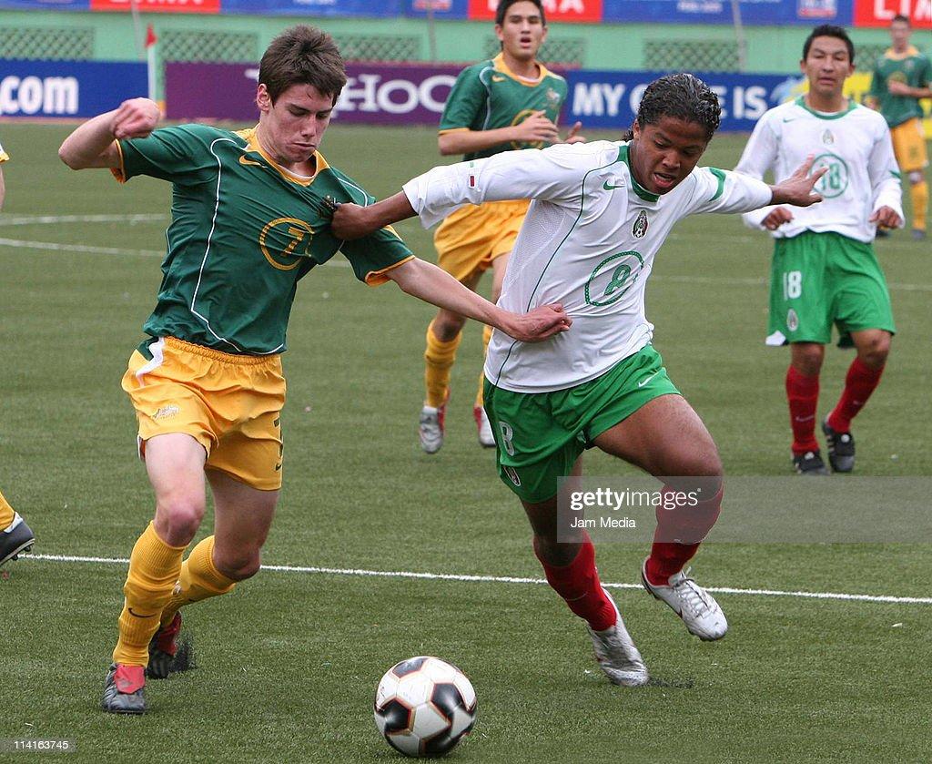 Mexico v Australia, World Cup U 17 Peru 2005 : News Photo