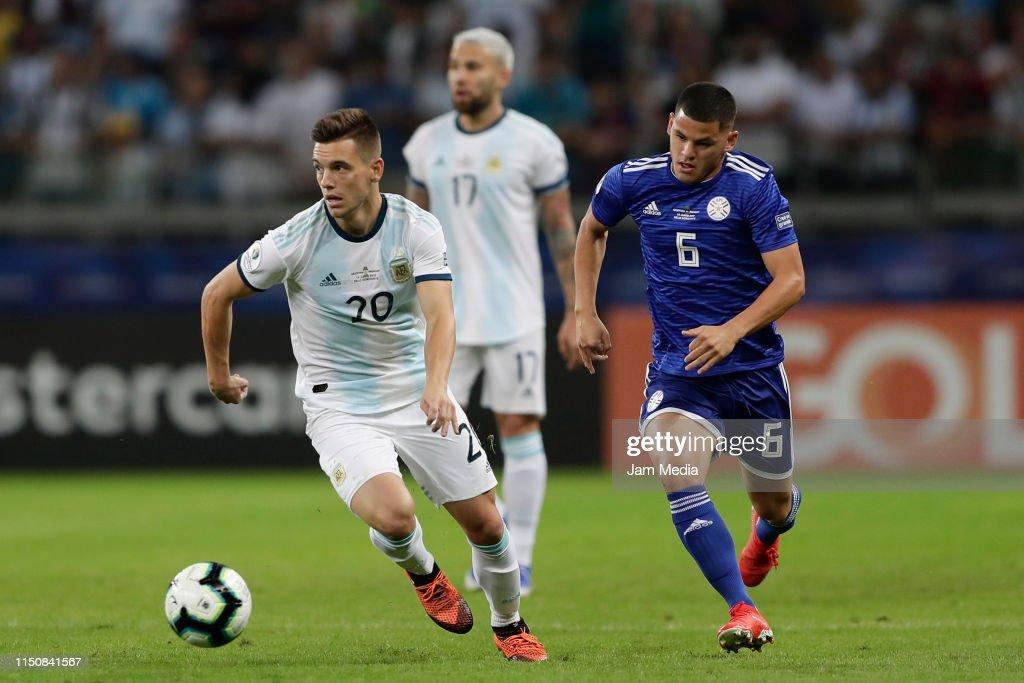 Argentina v Paraguay: Group B - Copa America Brazil 2019 : News Photo