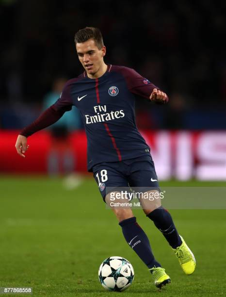 Giovani Lo Celso of PSG during the UEFA Champions League group B match between Paris SaintGermain and Celtic FC at Parc des Princes on November 22...