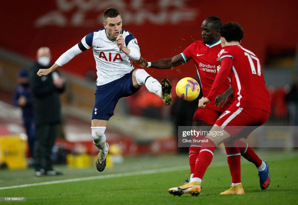 Liverpool v Tottenham Hotspur - Premier League : News Photo