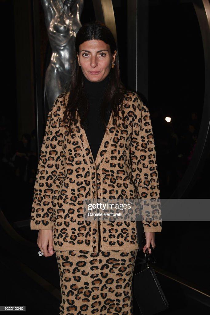 Alberta Ferretti - Front Row - Milan Fashion Week Fall/Winter 2018/19 : News Photo