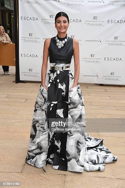 Giovanna Battaglia attends the American Ballet Theatre's 75th Anniversary Diamond Jubilee Spring Gala at The Metropolitan Opera House on May 18 2015...