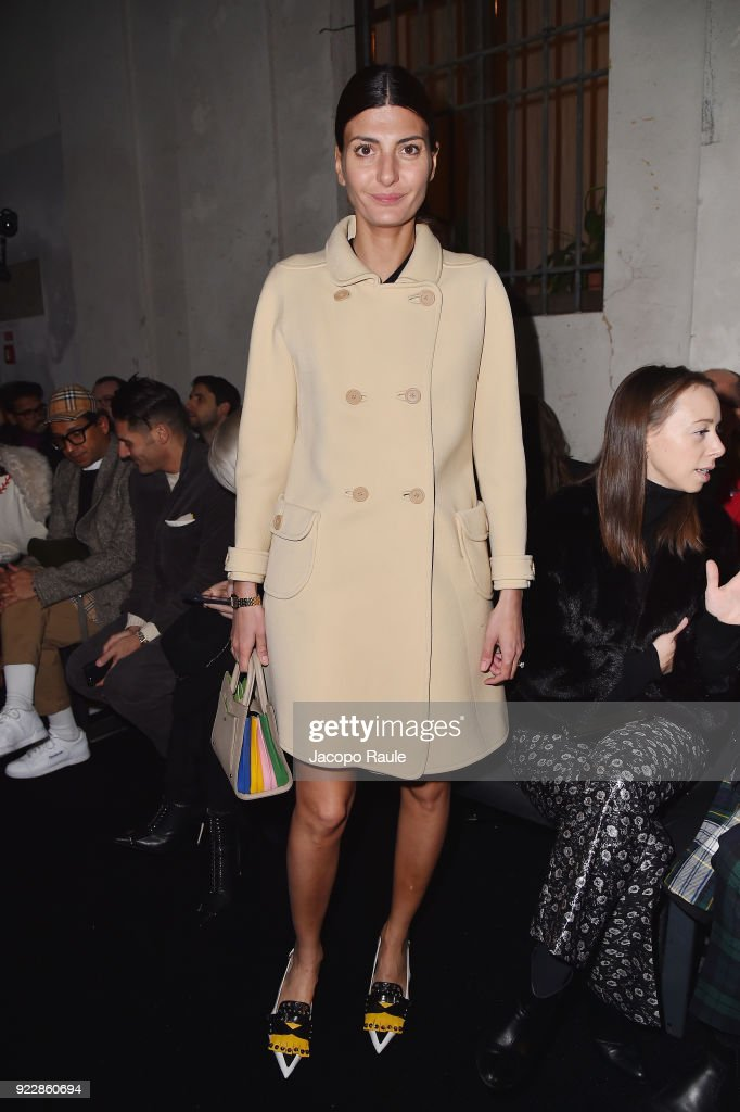 Max Mara - Front Row - Milan Fashion Week Fall/Winter 2018/19