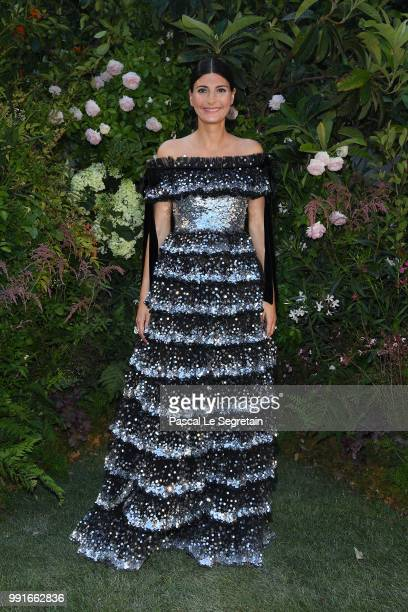 Giovanna Battaglia attends the Valentino Haute Couture Fall Winter 2018/2019 show as part of Paris Fashion Week on July 4, 2018 in Paris, France.
