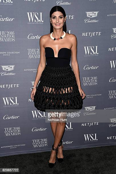Giovanna Battaglia attends the WSJ Magazine 2016 Innovator Awards at Museum of Modern Art on November 2 2016 in New York City