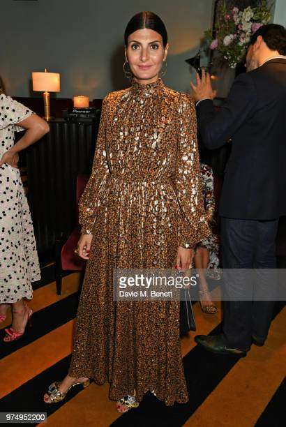 Giovanna Battaglia Engelbert attends a private dinner hosted by Edward Enninful in honour of Giambattista Valli to celebrate the opening of his first...
