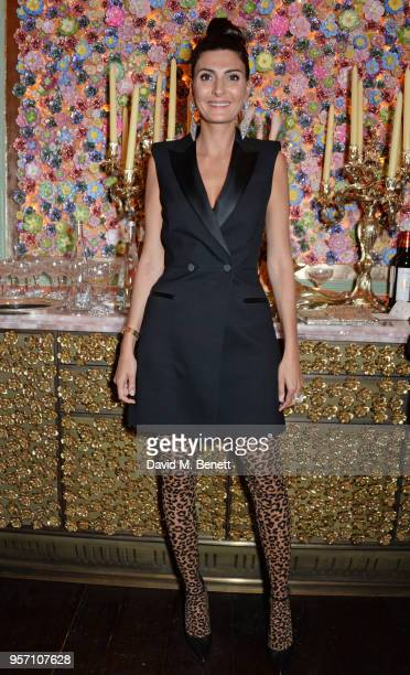 Giovanna Battaglia Engelbert attends a private dinner to celebrate the launch of 'AdR Book Beyond Fashion' a new Phaidon book by Anna Dello Russo at...
