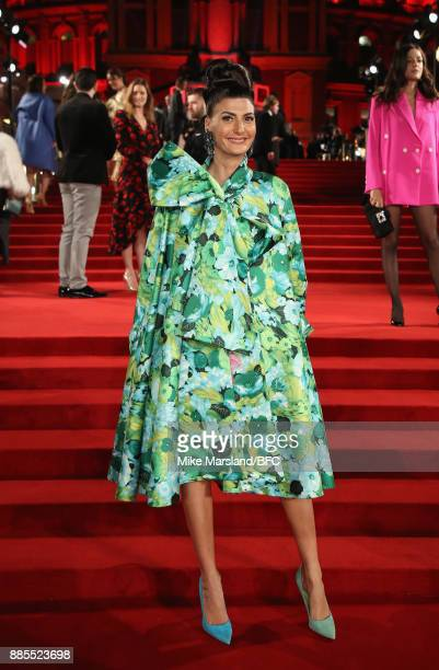 Giovanna Battaglia Engelbert attends The Fashion Awards 2017 in partnership with Swarovski at Royal Albert Hall on December 4 2017 in London England