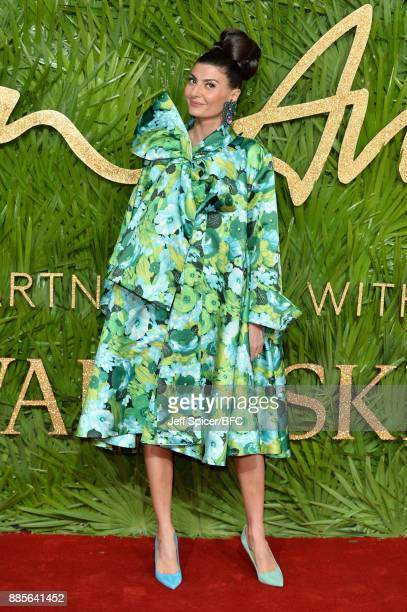 Giovanna Battaglia Engelbert attends The Fashion Awards 2017 in partnership with Swarovski at Royal Albert Hall on December 4 2017 in London England