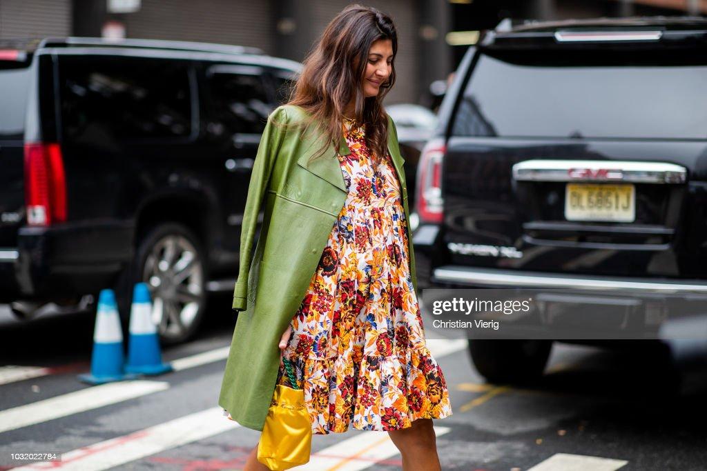 Street Style - New York Fashion Week September 2018 - Day 7 : Fotografía de noticias
