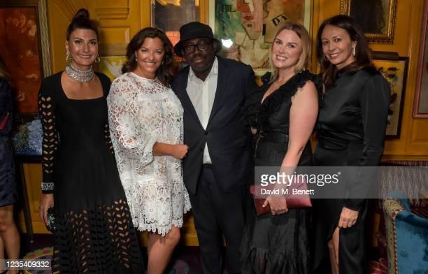 Giovanna Battaglia Engelbert, Zoe Proctor, Editor-In-Chief of British Vogue Edward Enninful, Laura Johnson and CEO of the British Fashion Council...