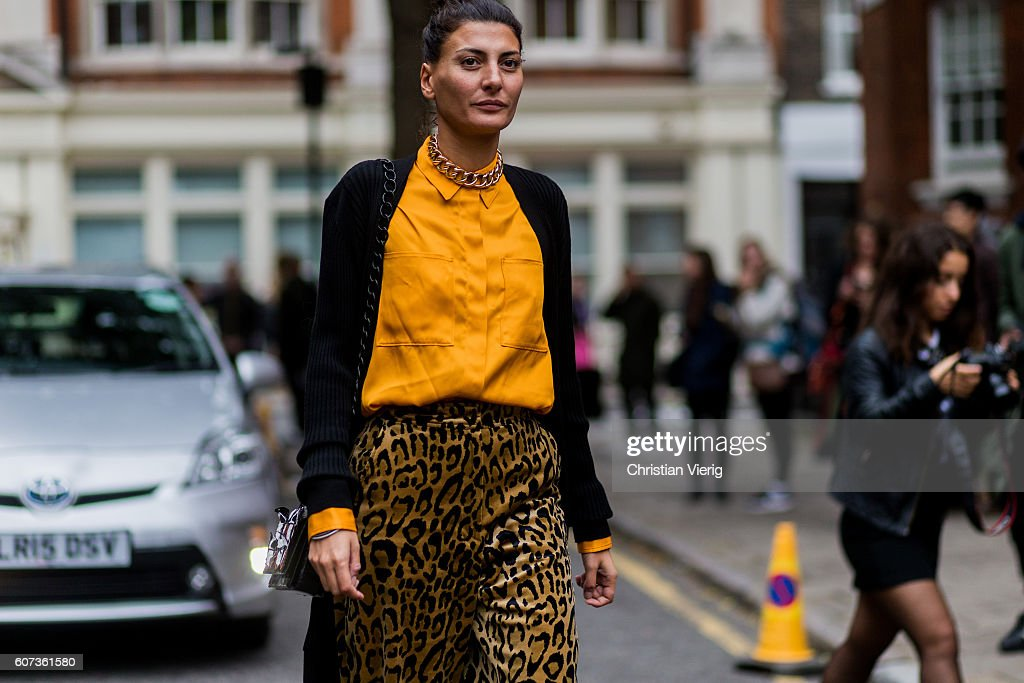 Street Style - Day 2 - LFW September 2016 : Photo d'actualité