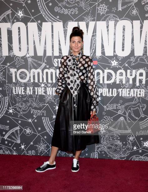Giovanna Engelbert attends TOMMYNOW New York Fall 2019 - Front Row & Atmosphere at The Apollo Theater on September 08, 2019 in New York City.