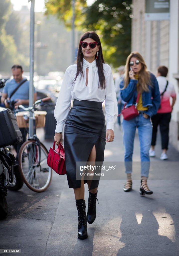 Street Style: September 22 - Milan Fashion Week Spring/Summer 2018