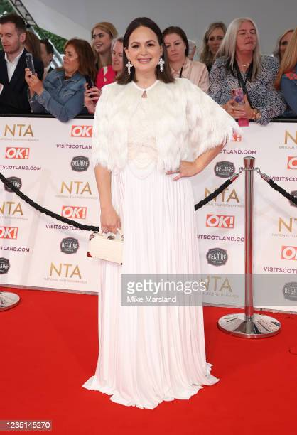 Giovanna Fletcher attend the National Television Awards 2021 at The O2 Arena on September 9, 2021 in London, England.