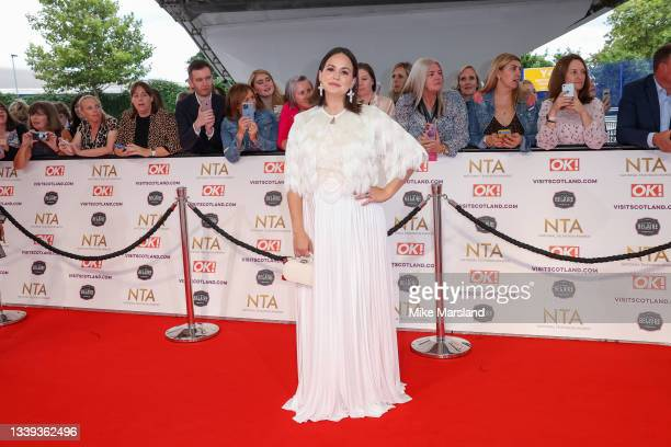 Giovanna Fletcher attends the National Television Awards 2021 at The O2 Arena on September 09, 2021 in London, England.