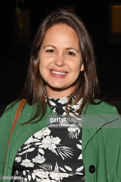 Giovanna Fletcher attends the press night after party for Little Shop Of Horrors at Regent's Park Open Air Theatre on August 10 2018 in London England